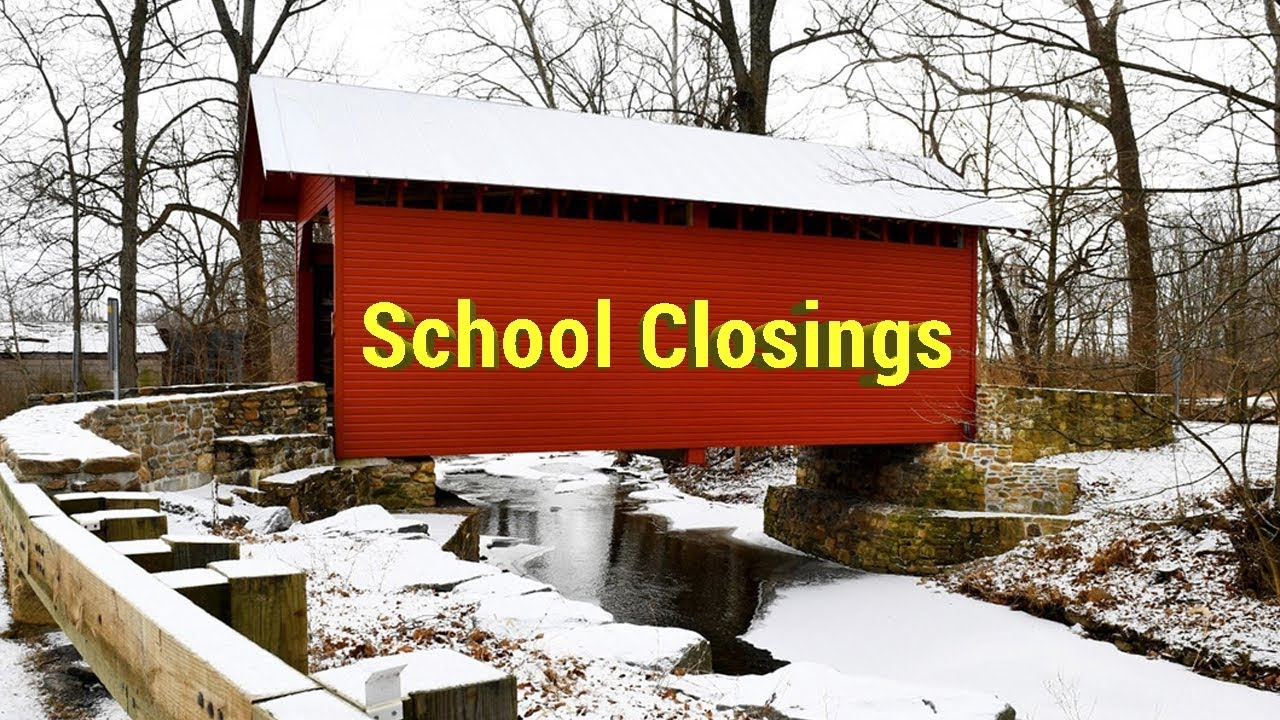 School Closings || Winter weather brings delays and closings to the D C   region