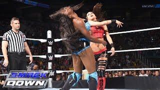 Brie Bella & Alicia Fox vs. Naomi & Tamina: SmackDown, July 9, 2015