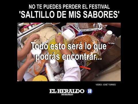 NO TE PUEDES PERDER EL FESTIVAL 'SALTILLO DE MIS SABORES'