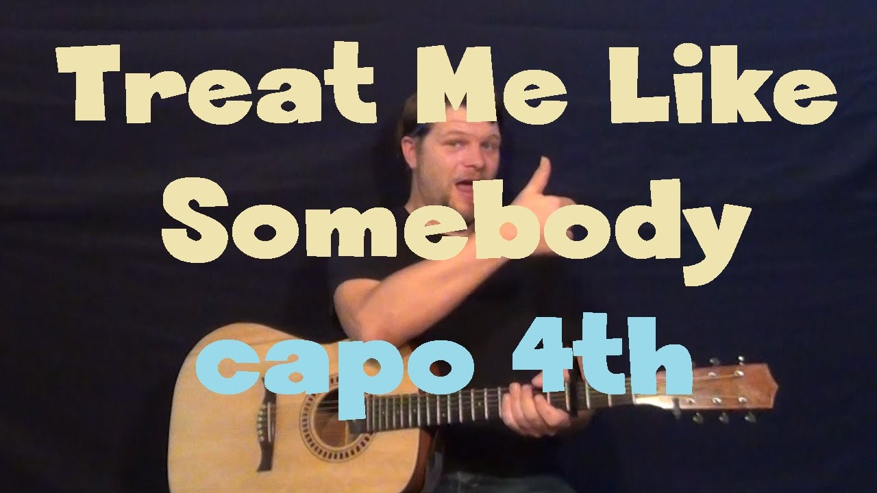 Treat Me Like Somebody Tink Easy Guitar Lesson How To Play