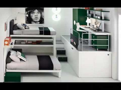 Ideas para una habitacion juvenil youtube for Dormitorio 2x3
