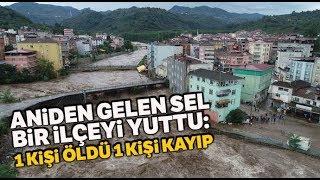 Samsun'da Sel: Aniden Gelen Sel Salıpazarı İlçesini Yuttu! 1 Kişi Öldü, 1 Kişi Kayıp