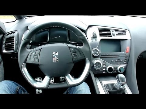 2012 Citroen DS5 THP 200 SportChic Interieur in Detail [8/9]