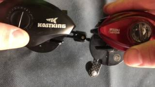 Compare KastKing Speed Demon to the Abu Garcia Revo Rocket