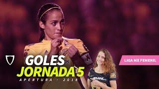 Resumen Goles Liga MX FEMENIL JORNADA 5 2018 - GOLAZO ALEXXANDRA RAMIREZ