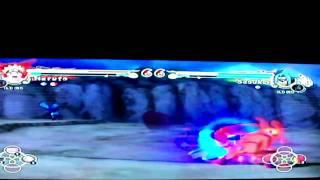 the final battle nine tailed fox naruto vs curse seal 2 sasuke episode 2
