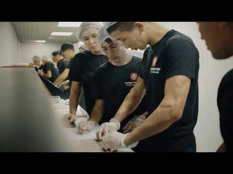 Правильное приготовление ролла  Школа поваров Суши Мастер