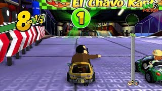 Gameplay - El Chavo Kart - Copa Sr. Barriga - #GamePlay