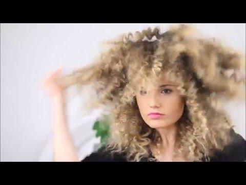 How to make straight hair into fluffy zig zag texture hair