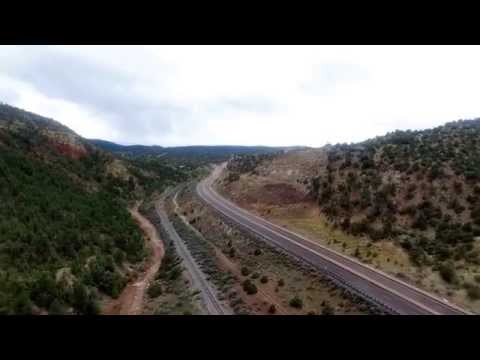 Voyager Flight over Santa Fe and Apache Canyon