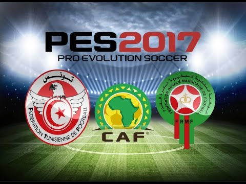 PS4 PES 2017 Gameplay Tunisia vs Morocco HD