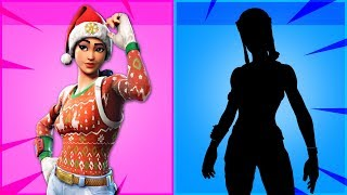 ce sont les SKINS MOST WANTED à Fortnite!