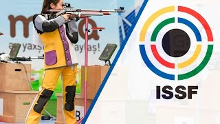 10m Air Rifle Women Final - 2016 ISSF Rifle, Pistol, Shotgun World Cup in Baku (AZE) thumbnail