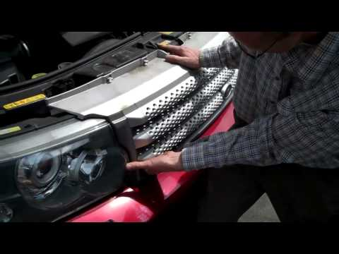 How To Remove Front Grill On A Range Rover Sport