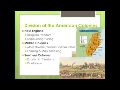 Colonial America, 1607 - 1763