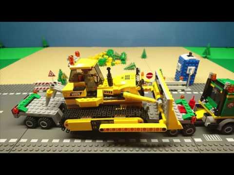 Lego film #1: Windturbine Construction site