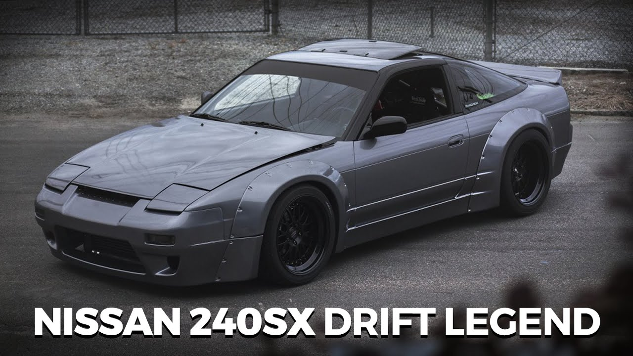 The Nissan 240sx Drift Legend