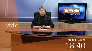VTV Dnevnik najava 13. travnja 2018.