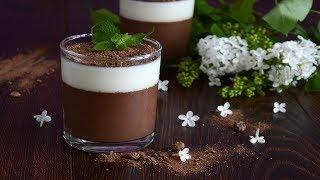 Молочно шоколадное желе
