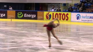 8 Satoko MIYAHARA (JPN) - ISU JGP Baltic Cup 2011 Junior Ladies Sho...