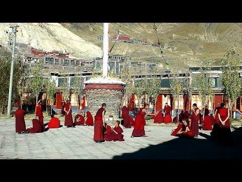 Sakya Monastery, Tibet in HD