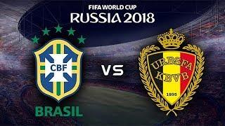 FIFA World Cup 2018 - Brazil vs Belgium - 06/07/2018