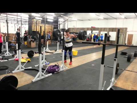 Lauren 102.5kg Back Squat / Sunday 15th September