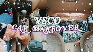 giving my car a VSCO makeover! *literally so cute!*