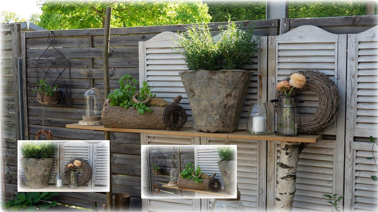 Leitfähigkeit Krebs Bluse terrasse dekoration selber machen amazon ...
