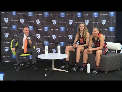 Oregon State Beavers - Rueck, Slocum and McWilliams talk Pac-12 and Beavs at Media Day!