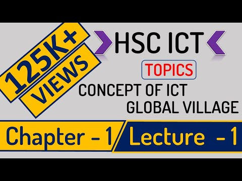 HSC ICT - Chapter 1 Lecture 1