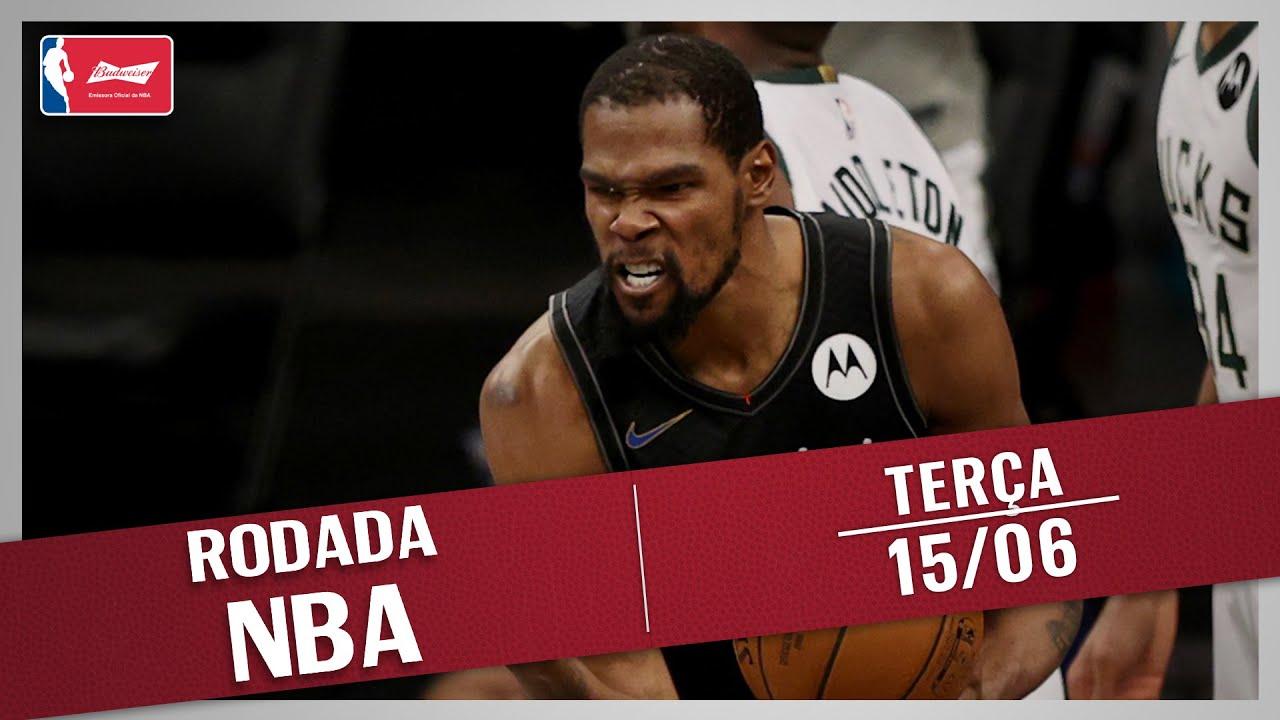 RODADA NBA 15/06 - DURANT FAZENDO HISTÓRIA E TOP 5 DA RODADA!