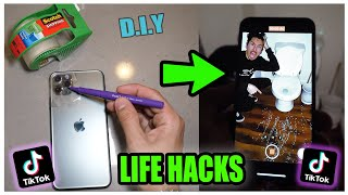 We TESTED Viral TikTok Life Hacks.... (THEY WORKED) *PART 5*