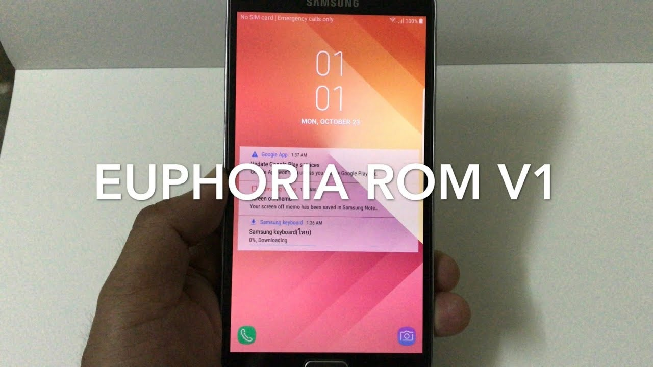 Euphoria Rom V1 FOR SM-N9005 OR Snapdragon 800 model by Manoon iTV