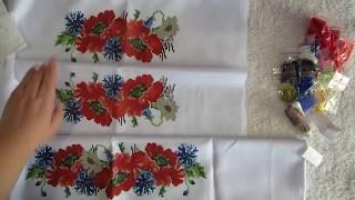 33❁Вышивка бисером❁Заготовка детского платья под вышивку бисером- обзор) И БРАК?
