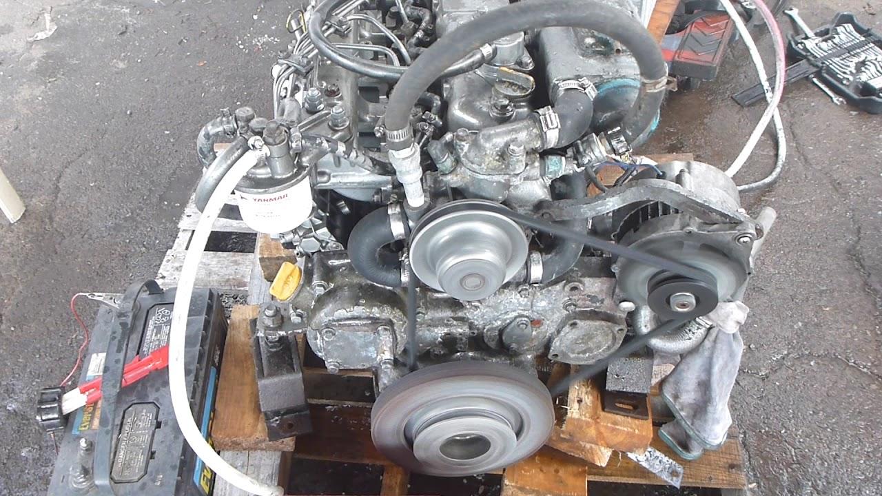 Yanmar 4JH3- Diesel Engine 60 HP Kanzaki transmission 2 57:1
