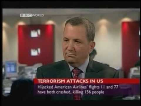 A chief architect of 9-11, Ehud Barak, interviewed on BBC an hour after attacks