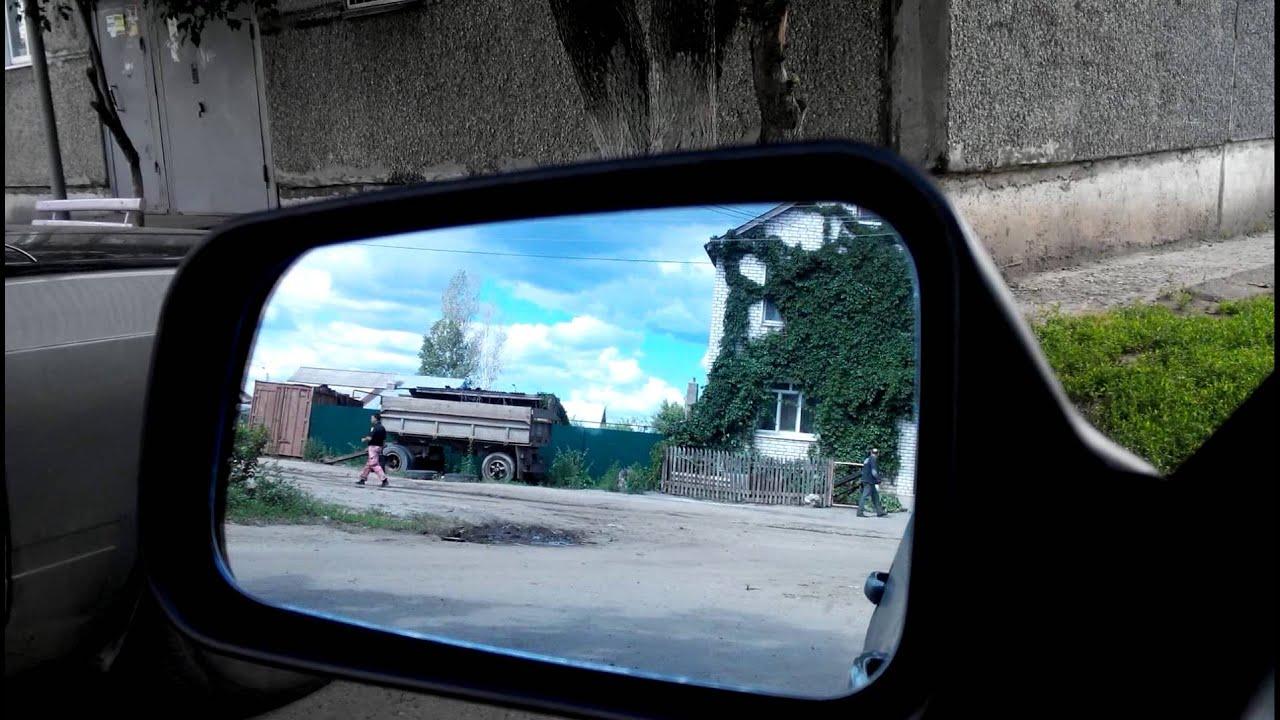Питерские зеркала с самодельными поворотниками на ВАЗ 2114 - YouTube