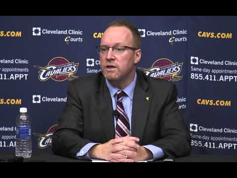 Cavaliers name David Griffin permanent General Manager