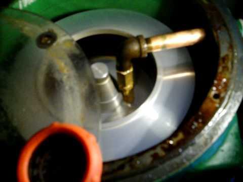 Centrifuge filtering method 2.0 Waste Veggie Oil WVO