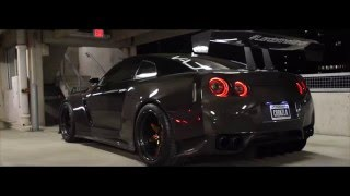Full carbon fiber Nissan GT-R - Carbonzilla - lord of the wings