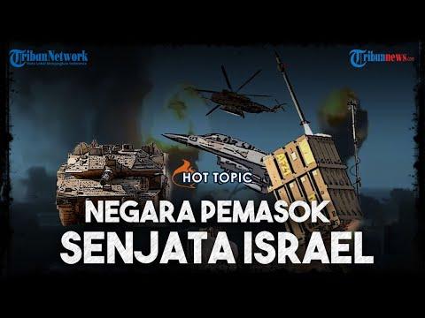Deretan Negara Pemasok Senjata Terbesar Ke Israel, Digunakan Untuk Bombardir Palestina Di Jalur Gaza