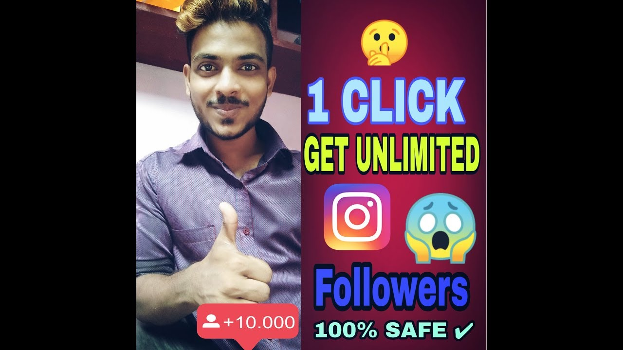 Increase unlimited Real Instagram Followers without any app 100% safe