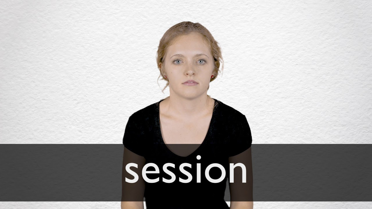 How to pronounce SESSION in British English