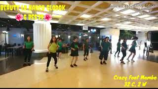 Download lagu CRAZY FOOT MAMBO - Line Dance (Share Dance Beauty @ Harco Glodok 🌺6 Des'19🌺)