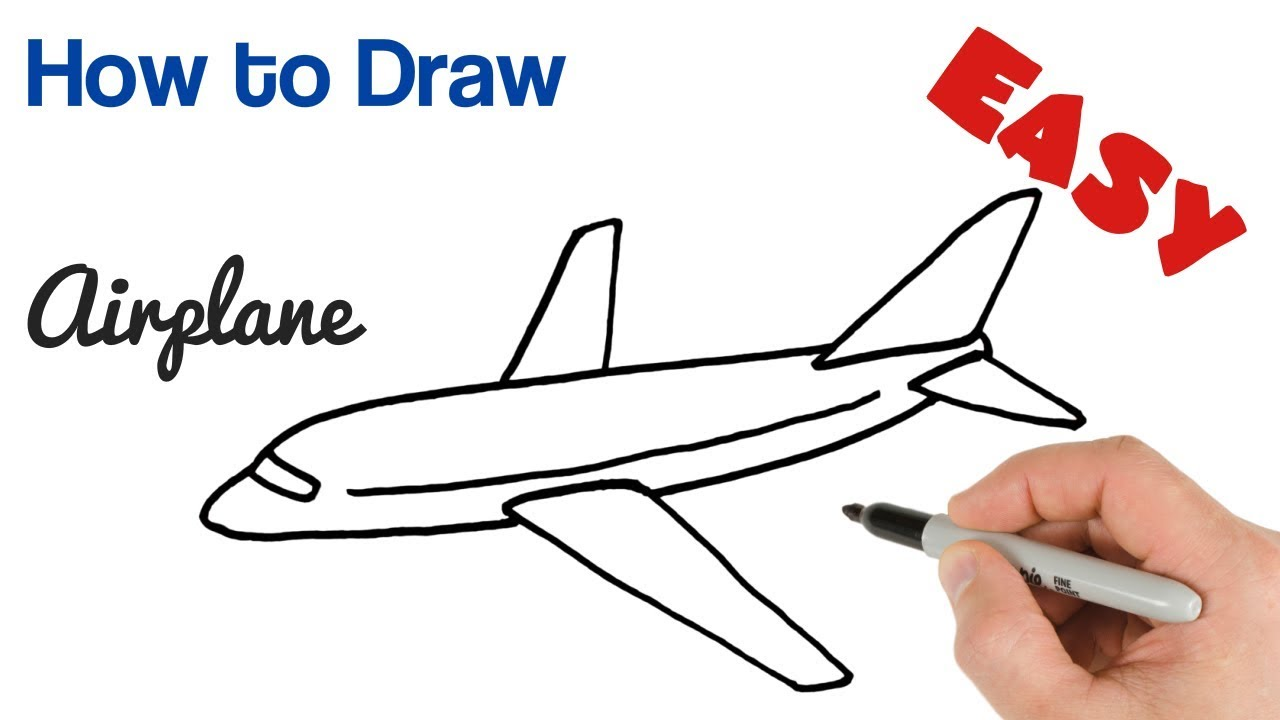 Howtodraw airplane plane