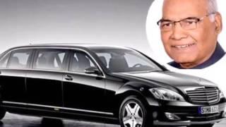 नए राष्ट्रपति रामनाथ कोविंद की कार देखकर हैरान होंगे आप, अभेद्य किला बनने के साथ साथ