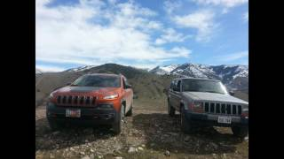 Old vs New Jeep Cherokee off-road comparison