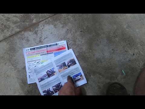 DIY- CurtTrailerHitch13155 Install on Mercedes GLK250