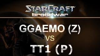 StarCraft - Brood War 2017 - GGaeMo (Z) v TT1 (P) on Blue Storm